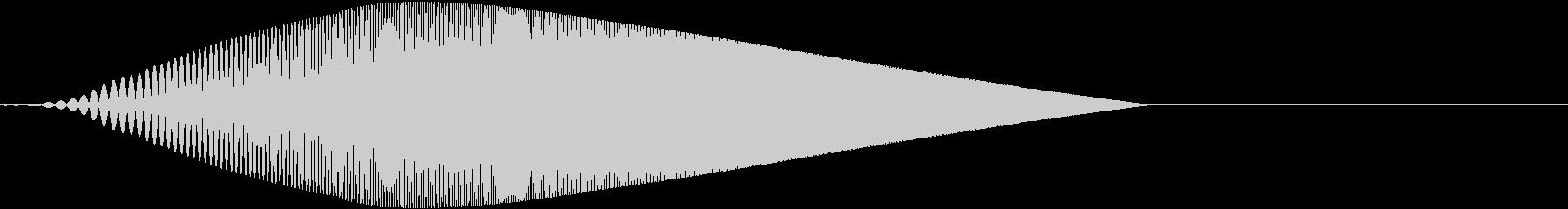 Tool プレゼン映像向け動作SE 6の未再生の波形