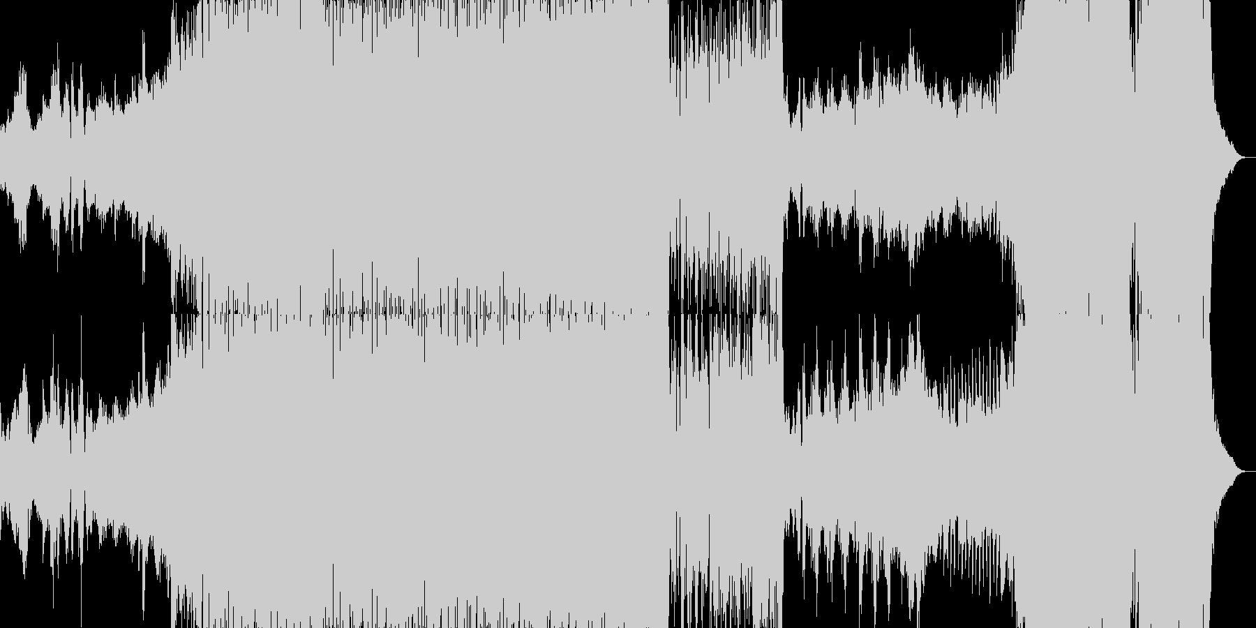 尺八の旋律が印象的な壮大なファンタジー曲の未再生の波形