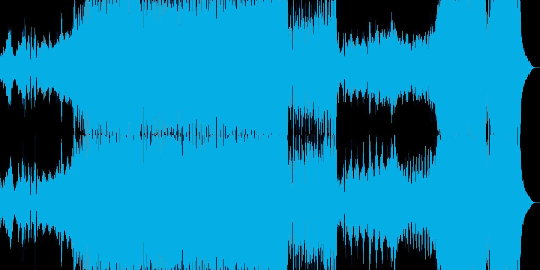 尺八の旋律が印象的な壮大なファンタジー曲の再生済みの波形