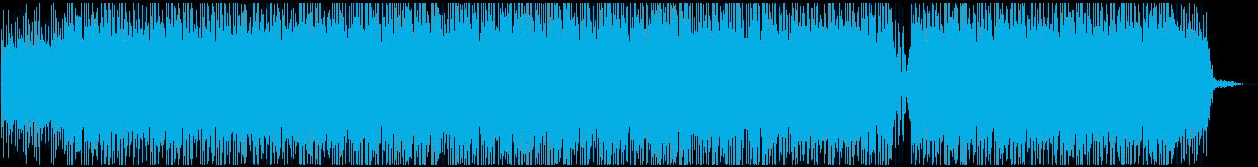 企業向オープニング 爽やかピアノポップの再生済みの波形