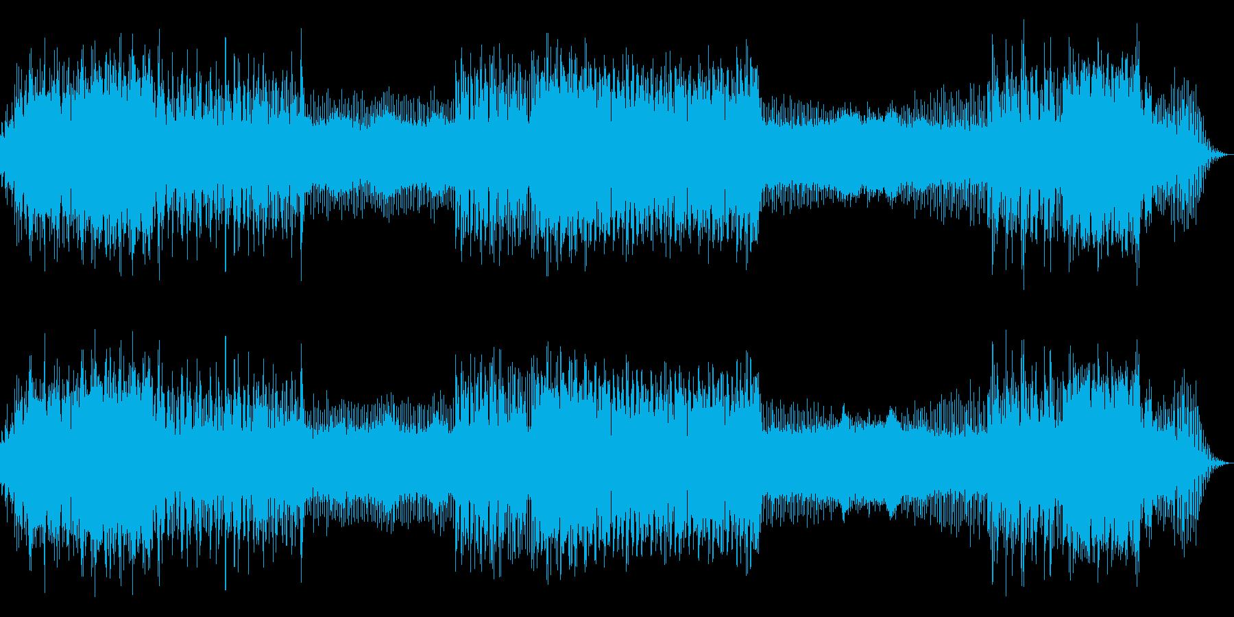 シネマサウンドを意識したアンビエントの再生済みの波形