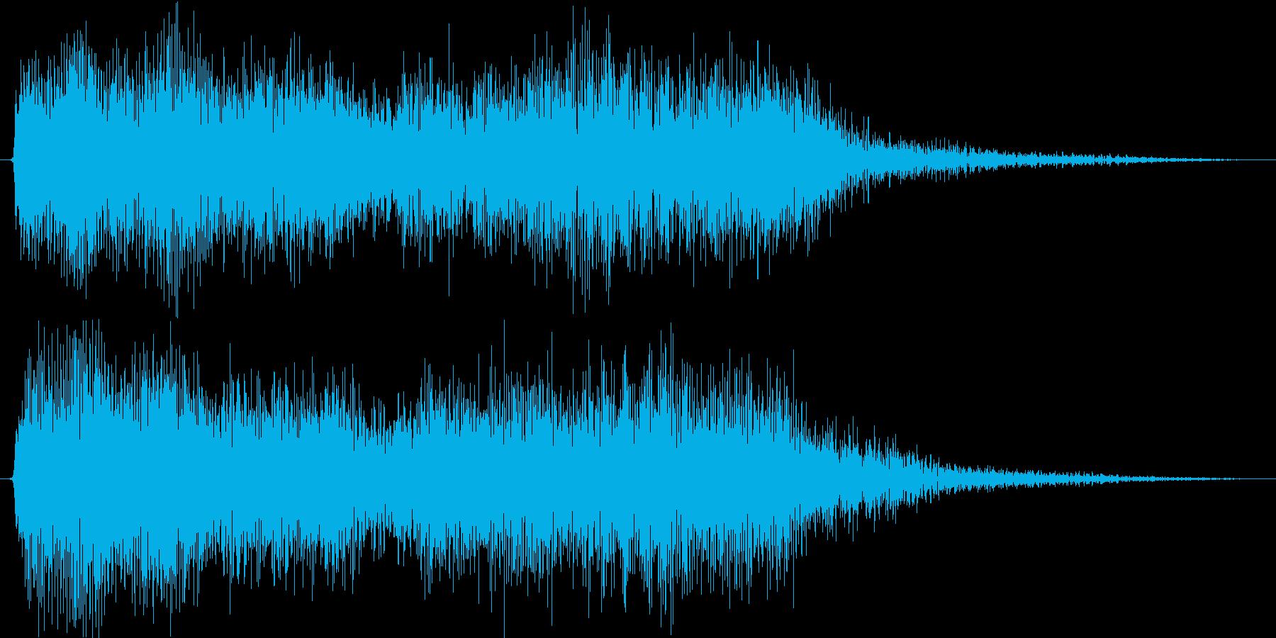 クラシックなイベントロスト曲1の再生済みの波形