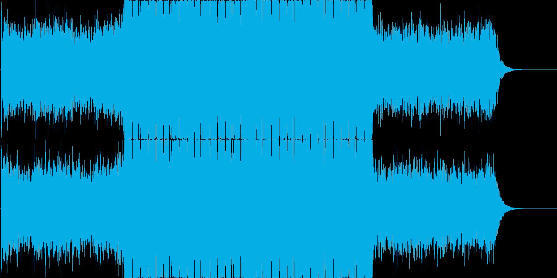 青い共鳴 / ダウンテンポ・チルアウトの再生済みの波形