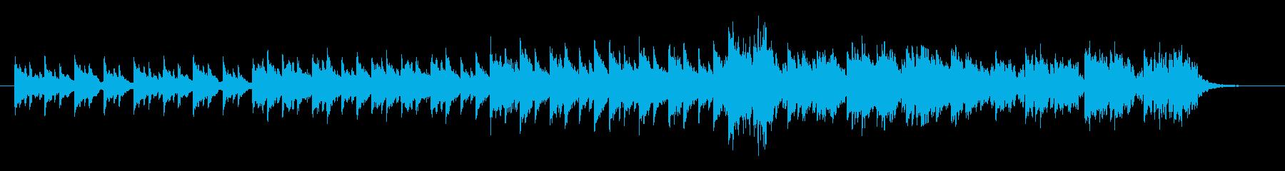 回想シーンなどに使えるBGMの再生済みの波形