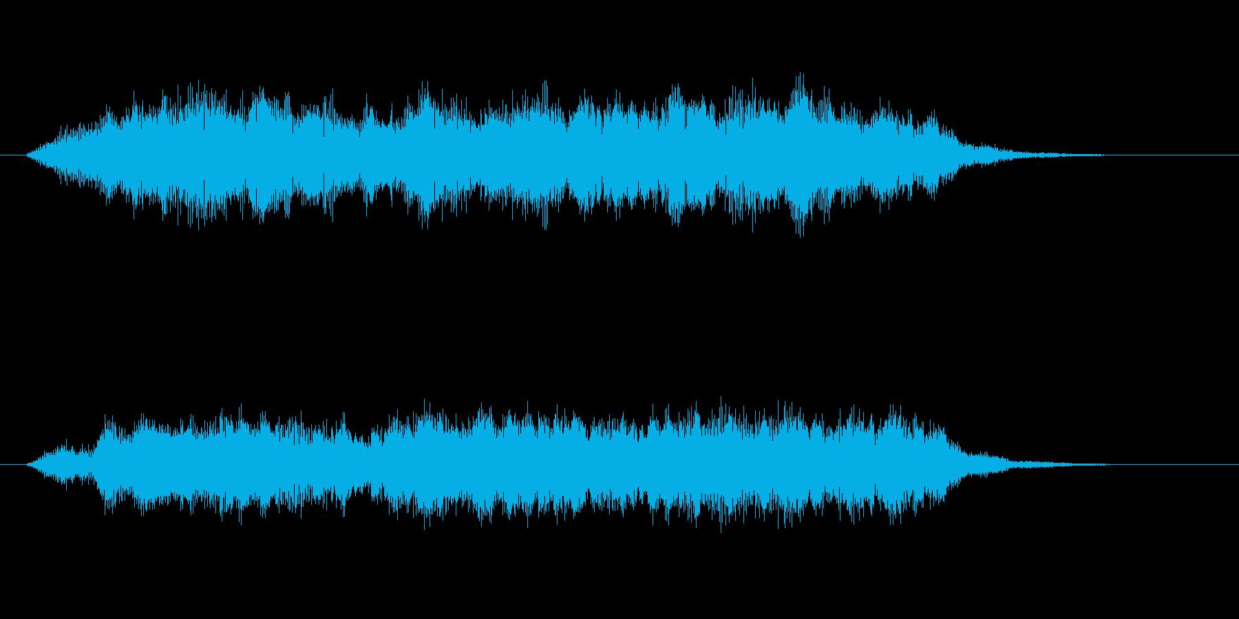 ゆったりと落ち着いた幻想曲の再生済みの波形
