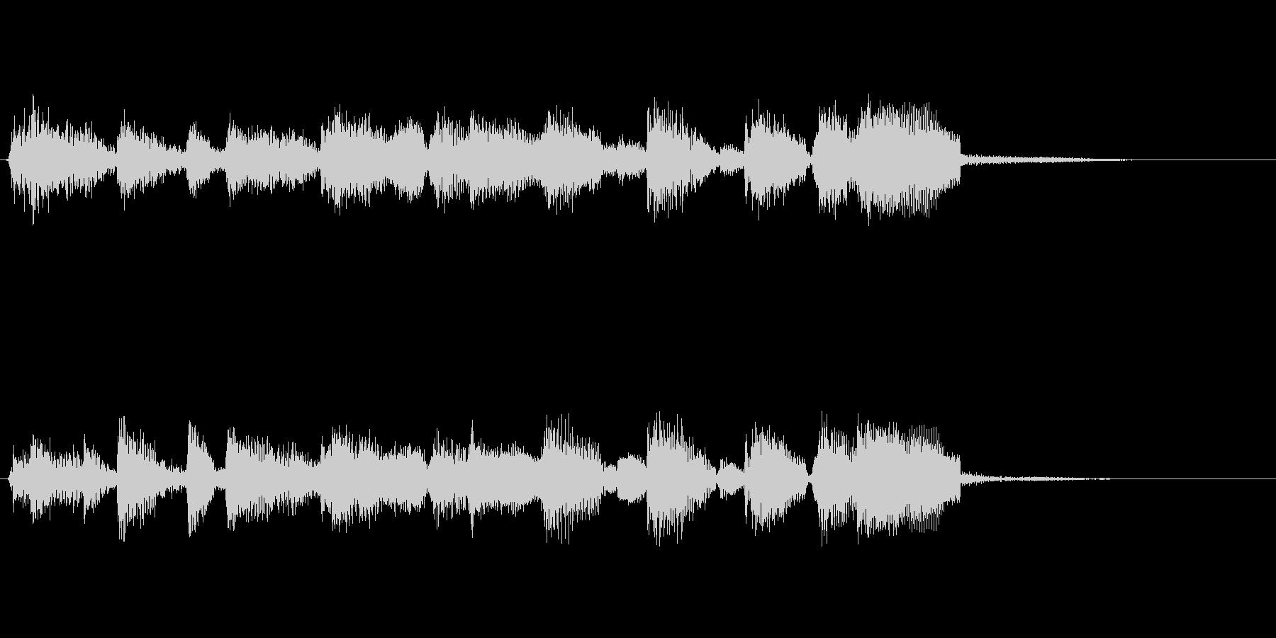 企業ロゴ表示用サウンドロゴ3(躍動感)の未再生の波形