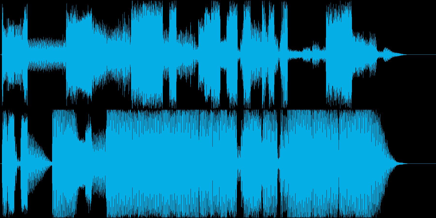 ロボットサウンド 機械音5の再生済みの波形
