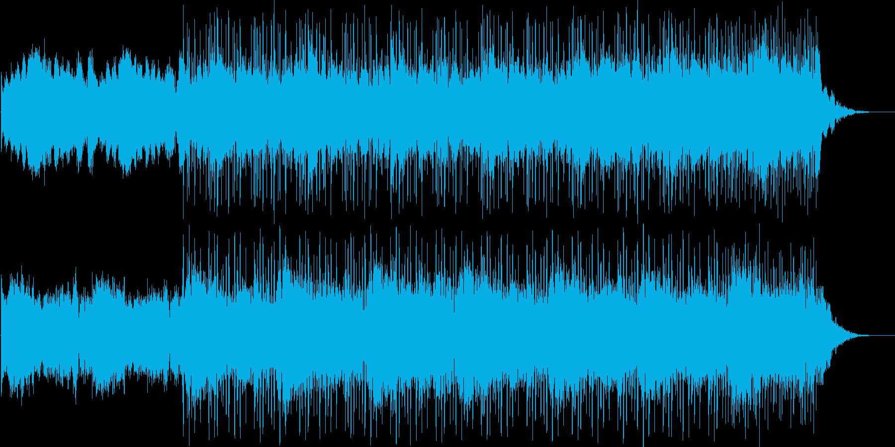 緊迫感あるSFチックなアンビエントの再生済みの波形