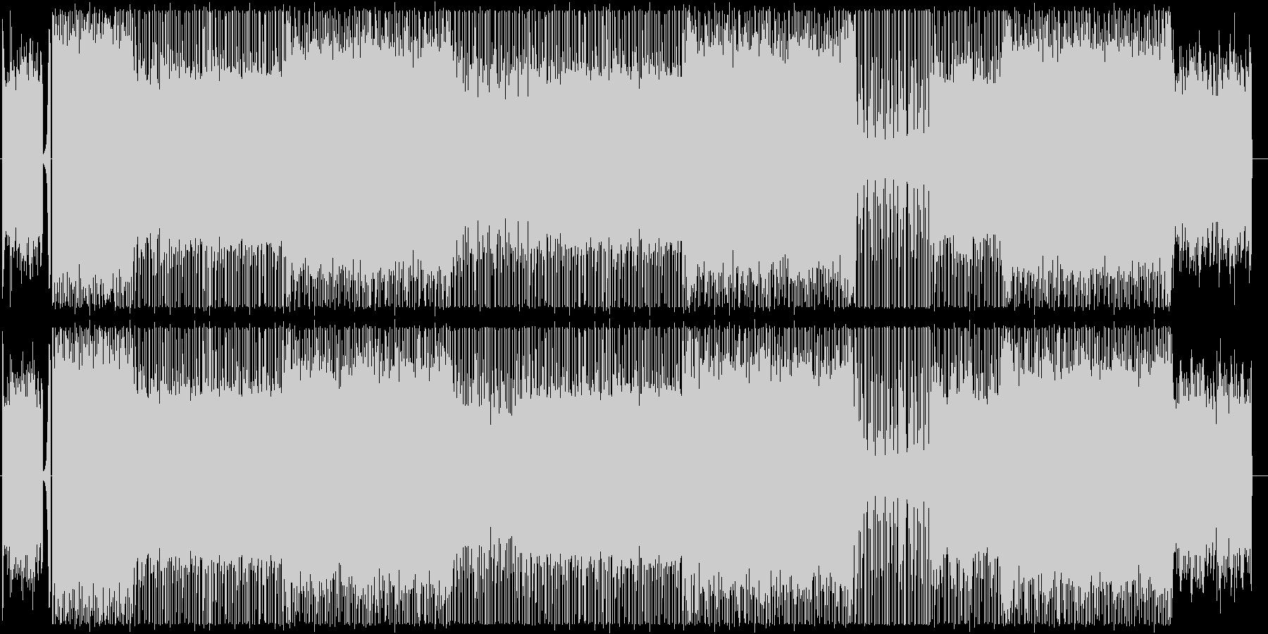 ピアノ/ヒップホップ/サイバー/#1の未再生の波形