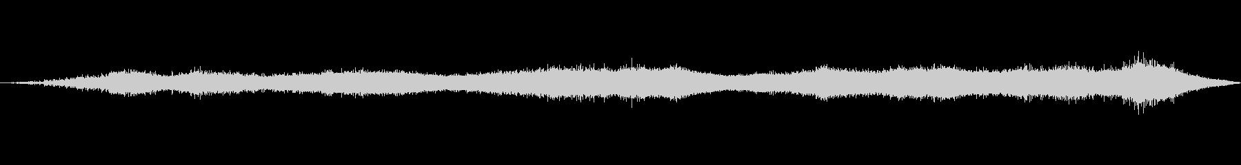 風の効果音(自然、そよ風、ビル風等)01の未再生の波形