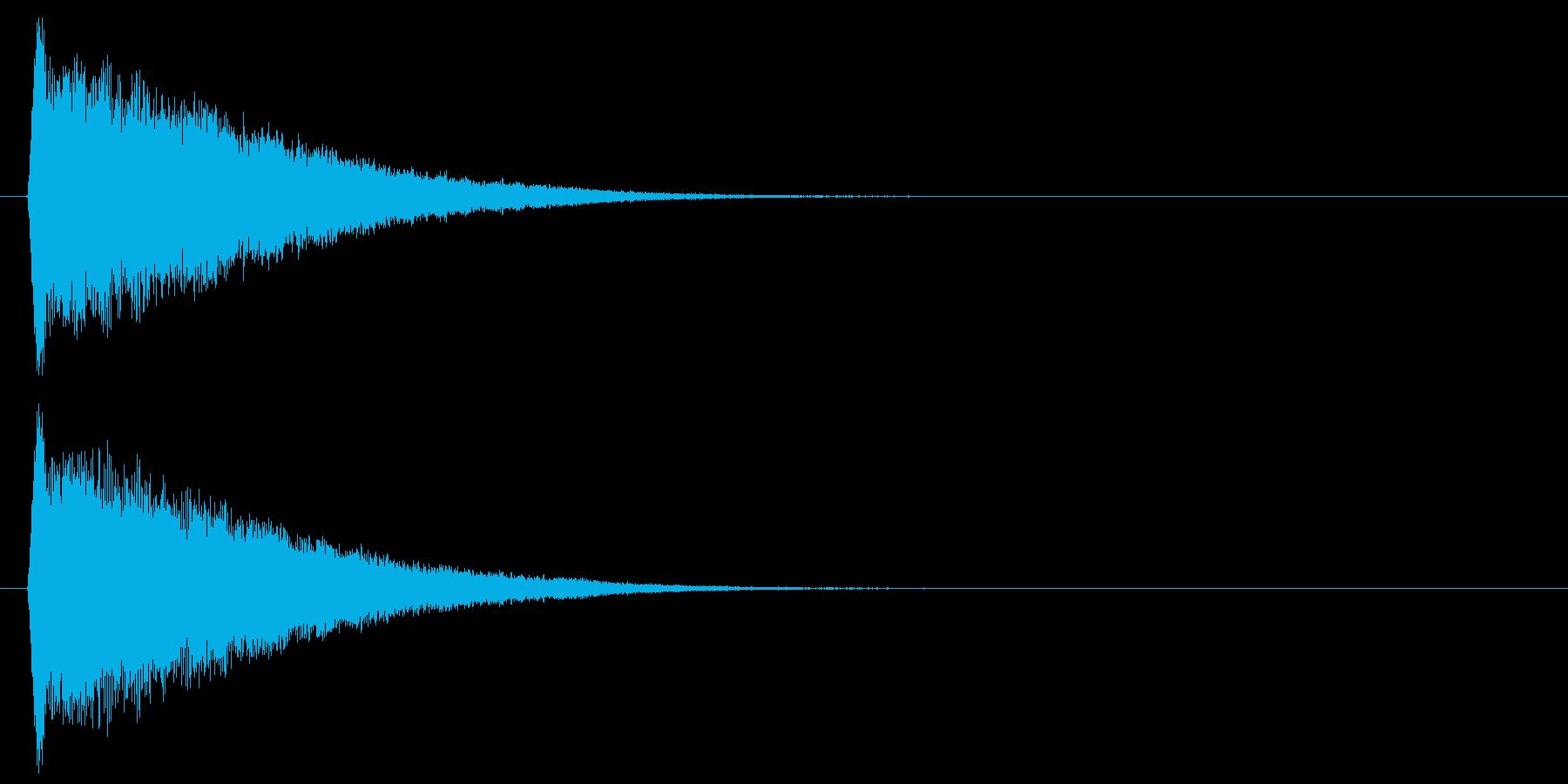 キュルルルッ↑(上昇、回復、キラキラ)の再生済みの波形