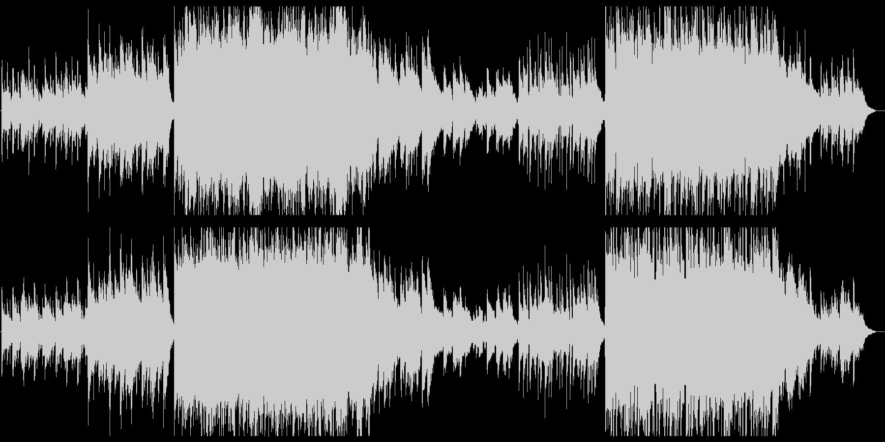 和風音階 笛メロ 弦楽の現代的アレンジの未再生の波形