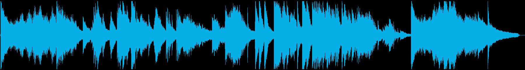 怪しい雰囲気の大々的なピアノソロの再生済みの波形