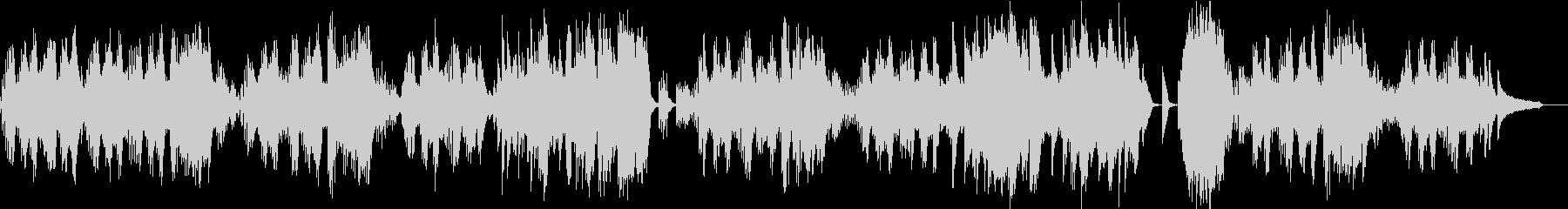 ベートーヴェンのピアノ曲の未再生の波形