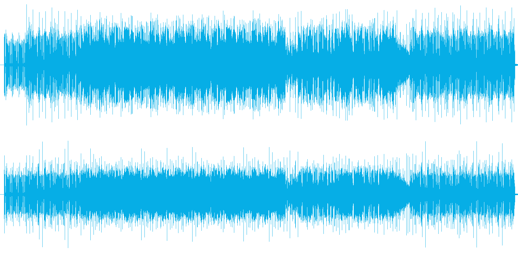 おしゃれなジャズ風インストの再生済みの波形
