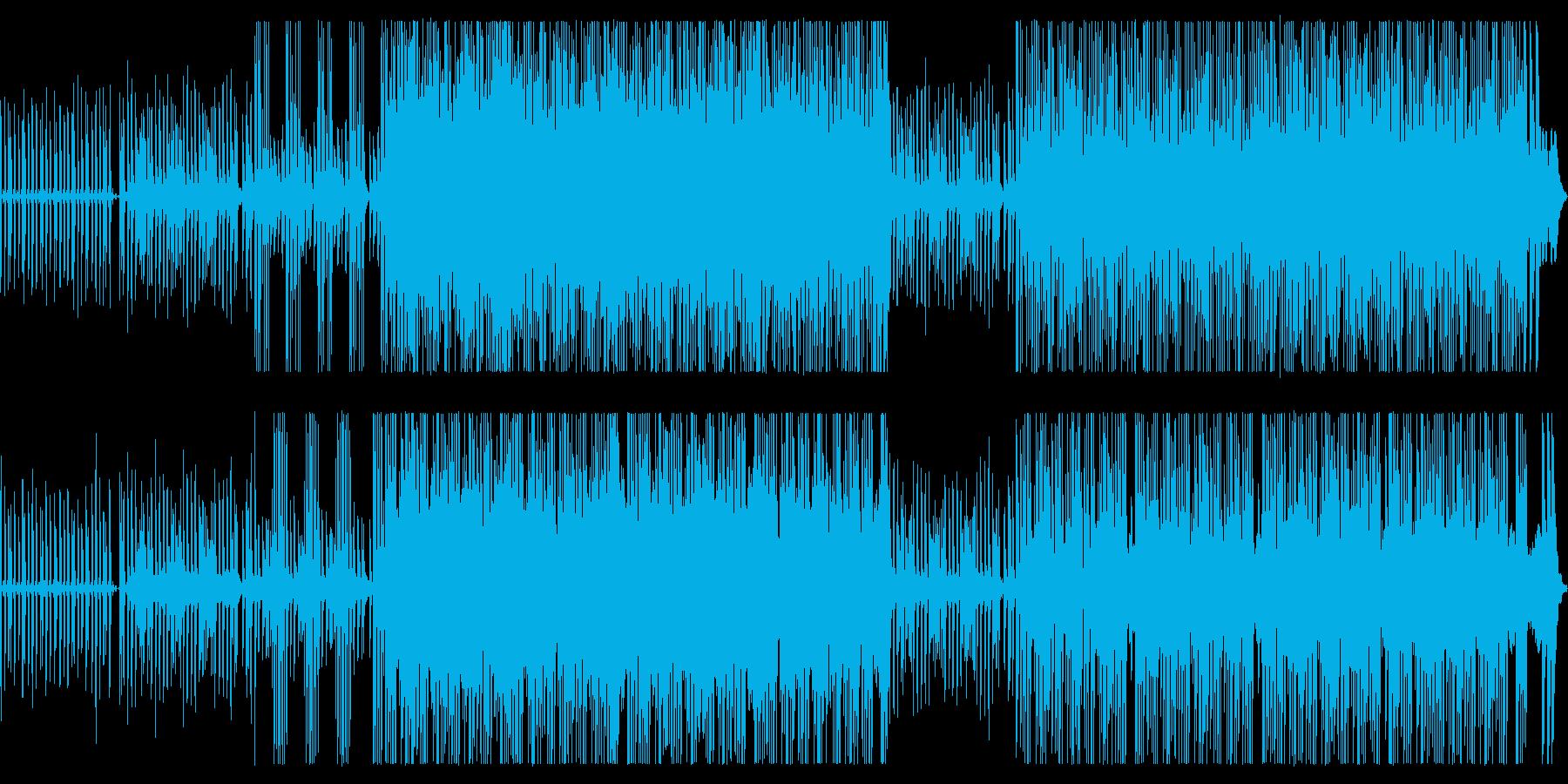奇妙で生々しいエレクトロバラードの再生済みの波形