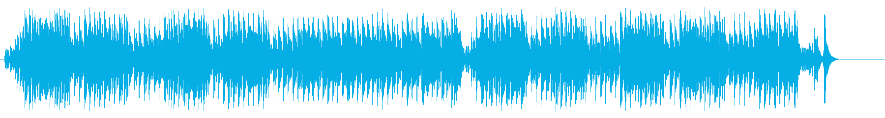 テーマ・パーク向けの楽しいマーチの再生済みの波形