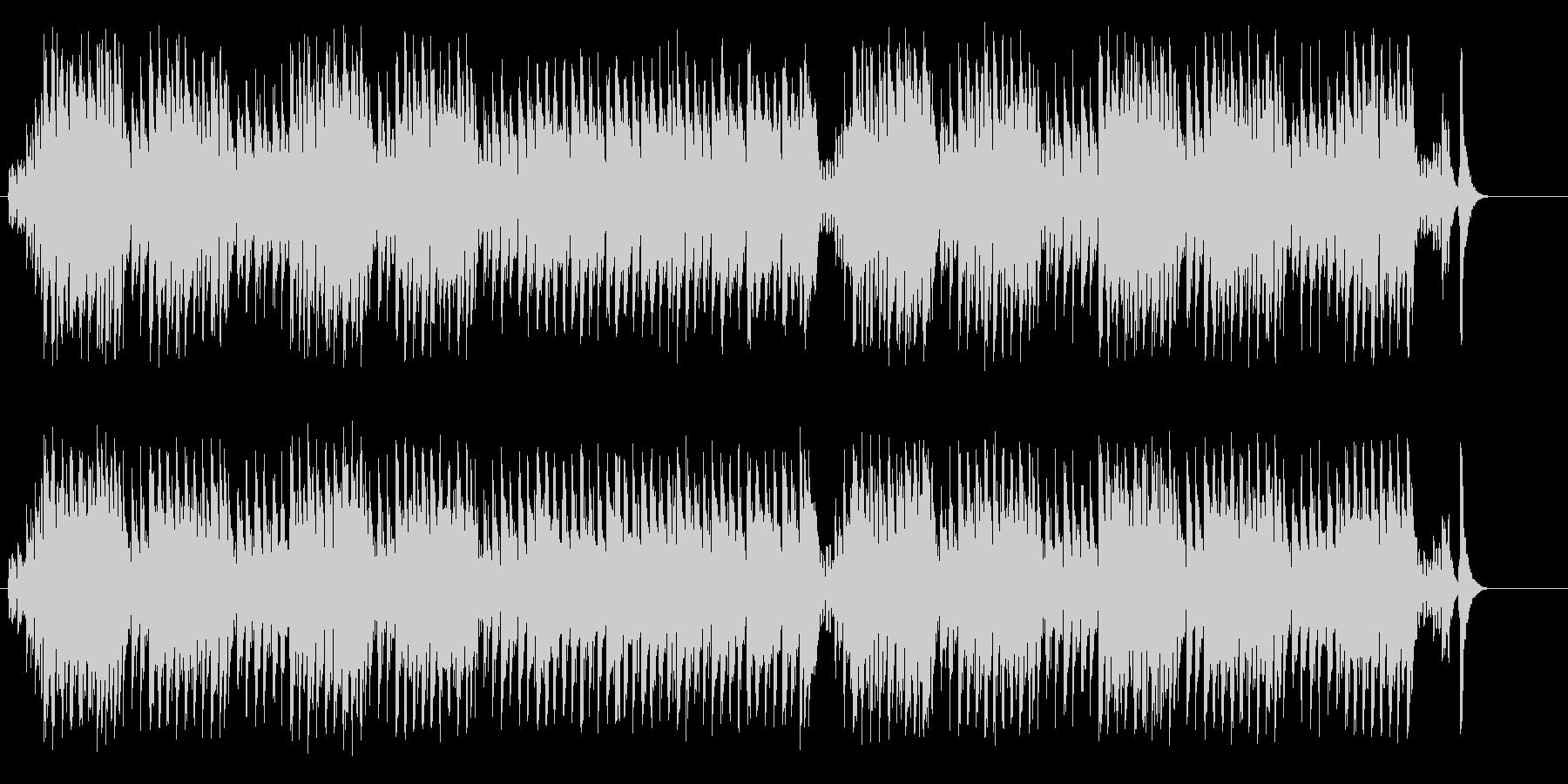 テーマ・パーク向けの楽しいマーチの未再生の波形
