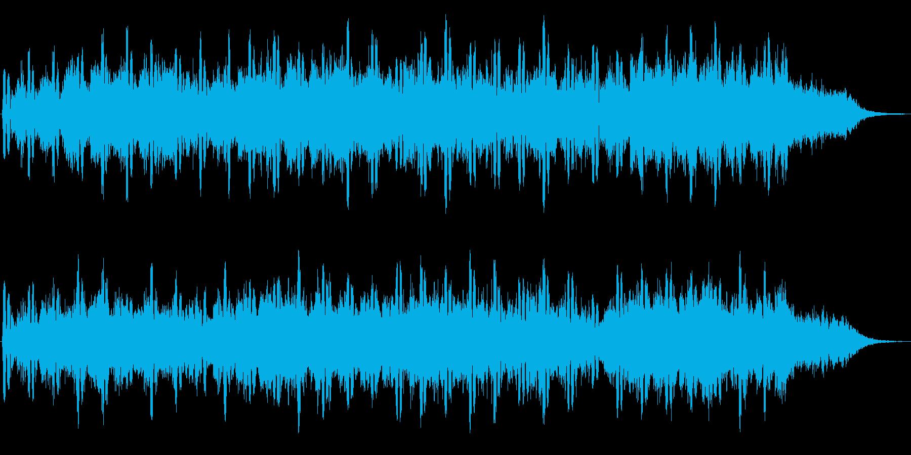 シンセが特徴的な不思議な世界のジングル2の再生済みの波形