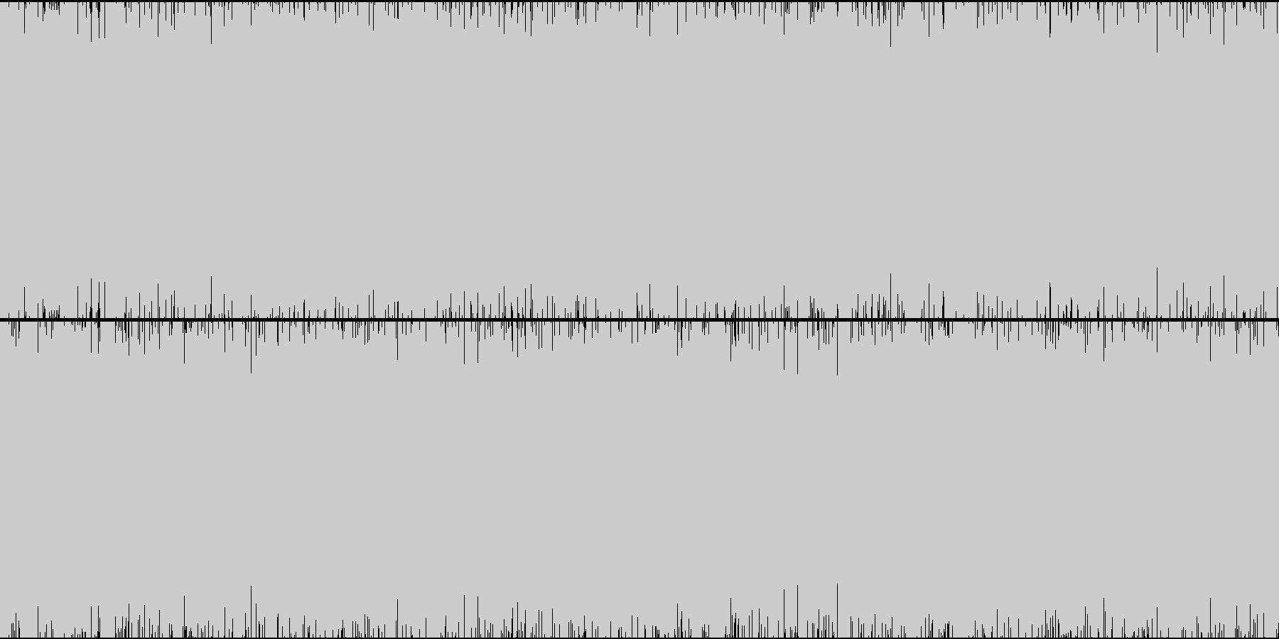 ゲーム トランス 01の未再生の波形