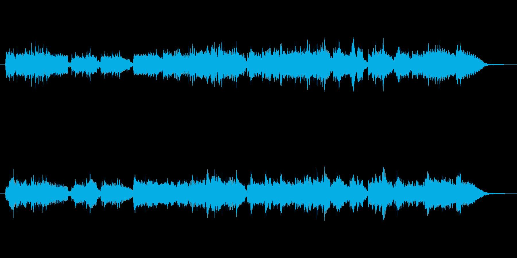 安らぐアコーディオン&ピアノ曲・懐かしいの再生済みの波形