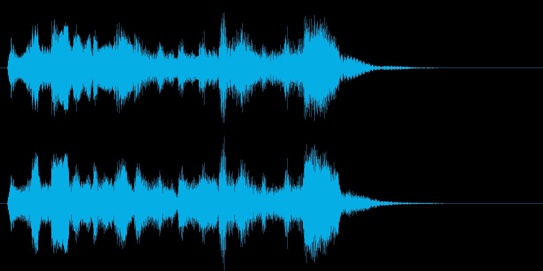 チェロ3重奏でゲームオーバーの再生済みの波形