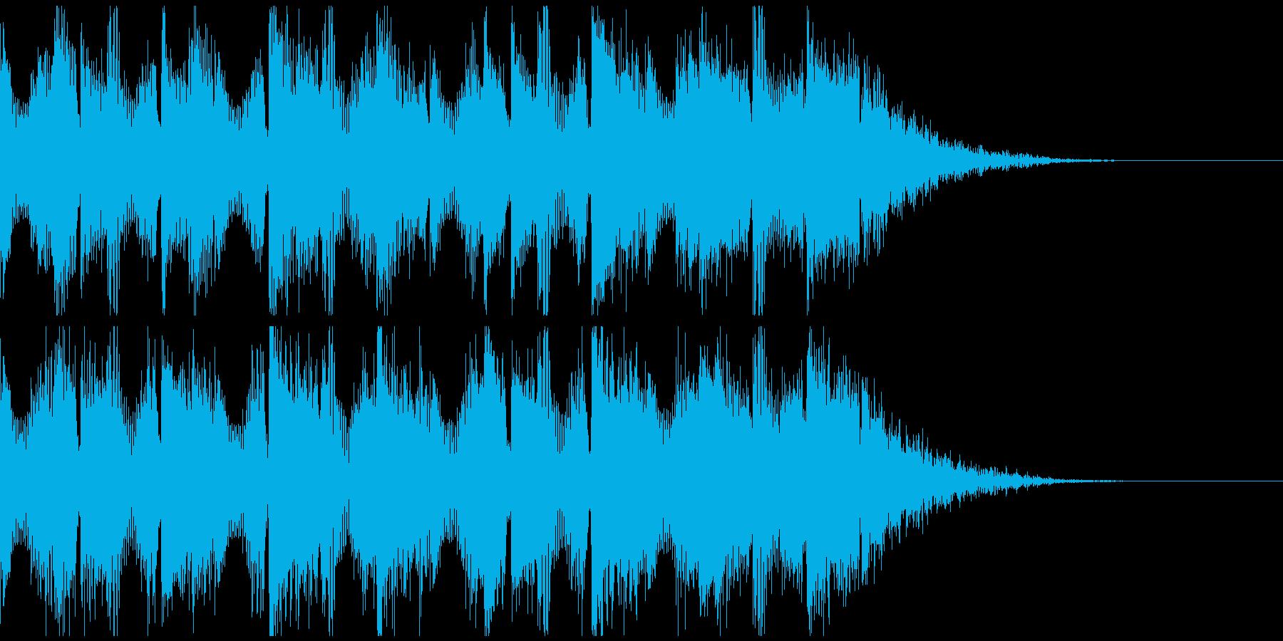 YouTubeのOPやEDに使えるEDMの再生済みの波形