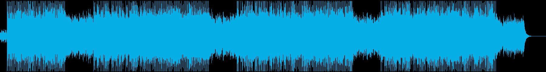 電子音楽 和風の再生済みの波形