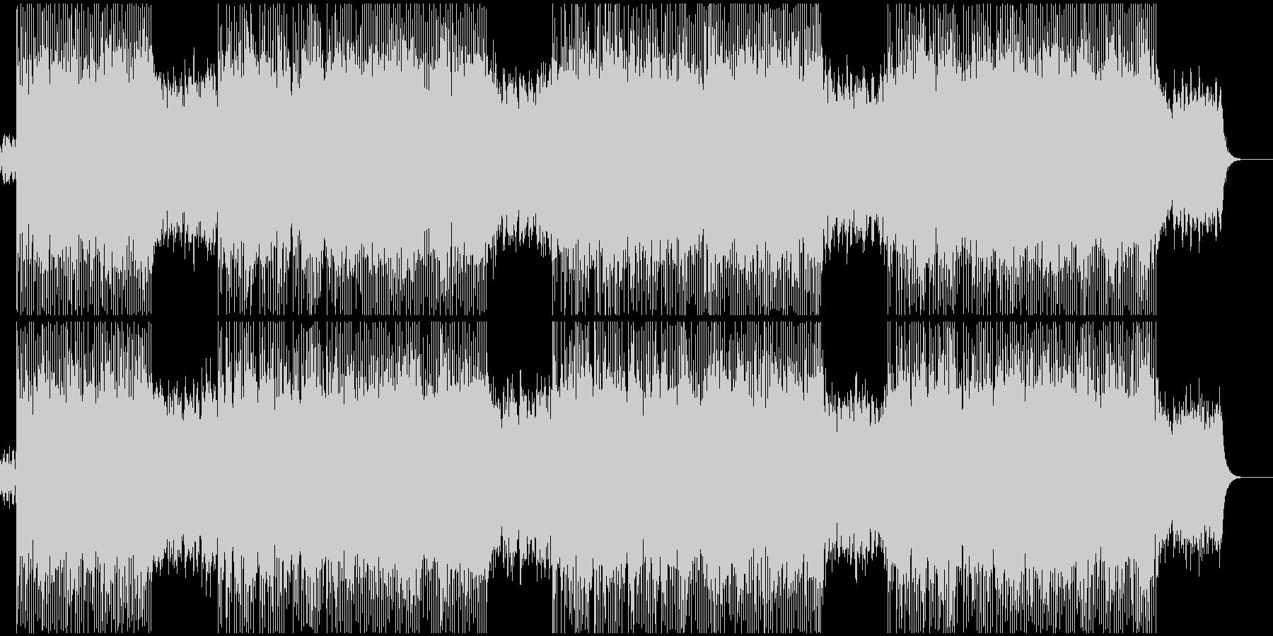 電子音楽 和風の未再生の波形