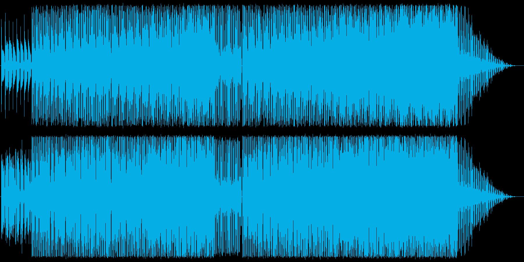 ローズをメインとしたインスト楽曲の再生済みの波形