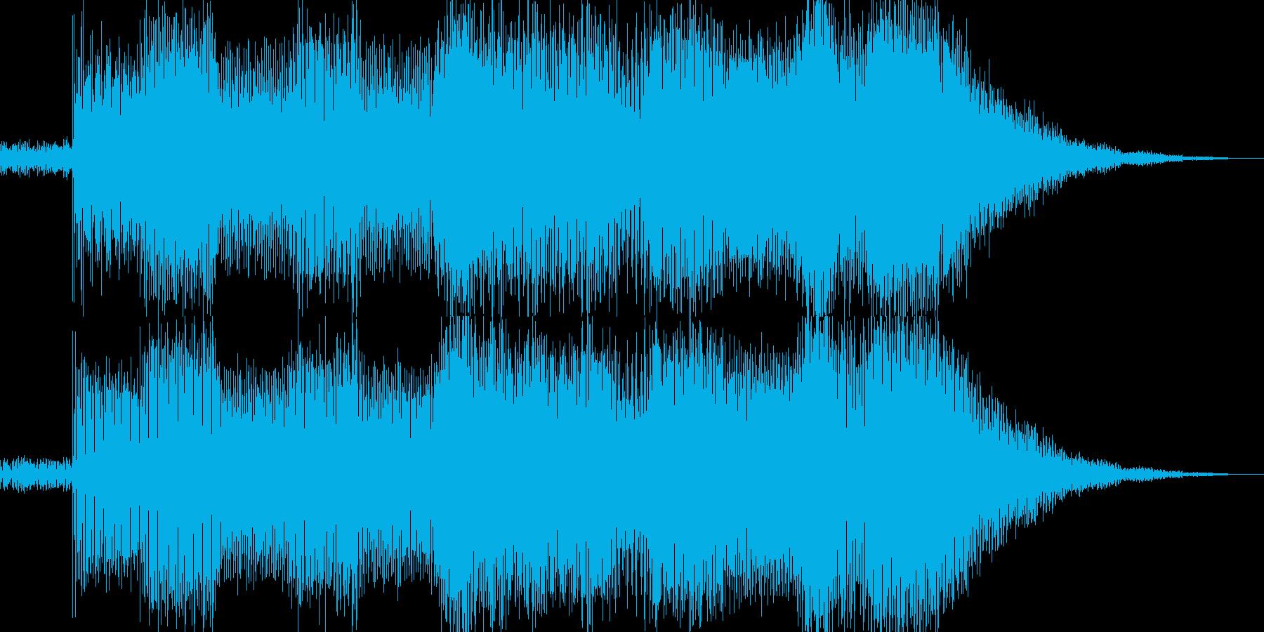 二曲目です。の再生済みの波形