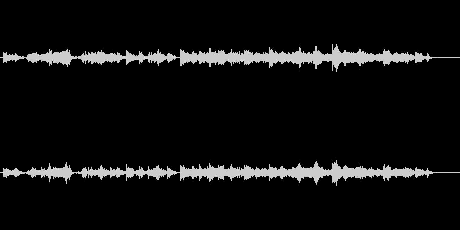 環境音楽風(1992宇宙の旅)の未再生の波形
