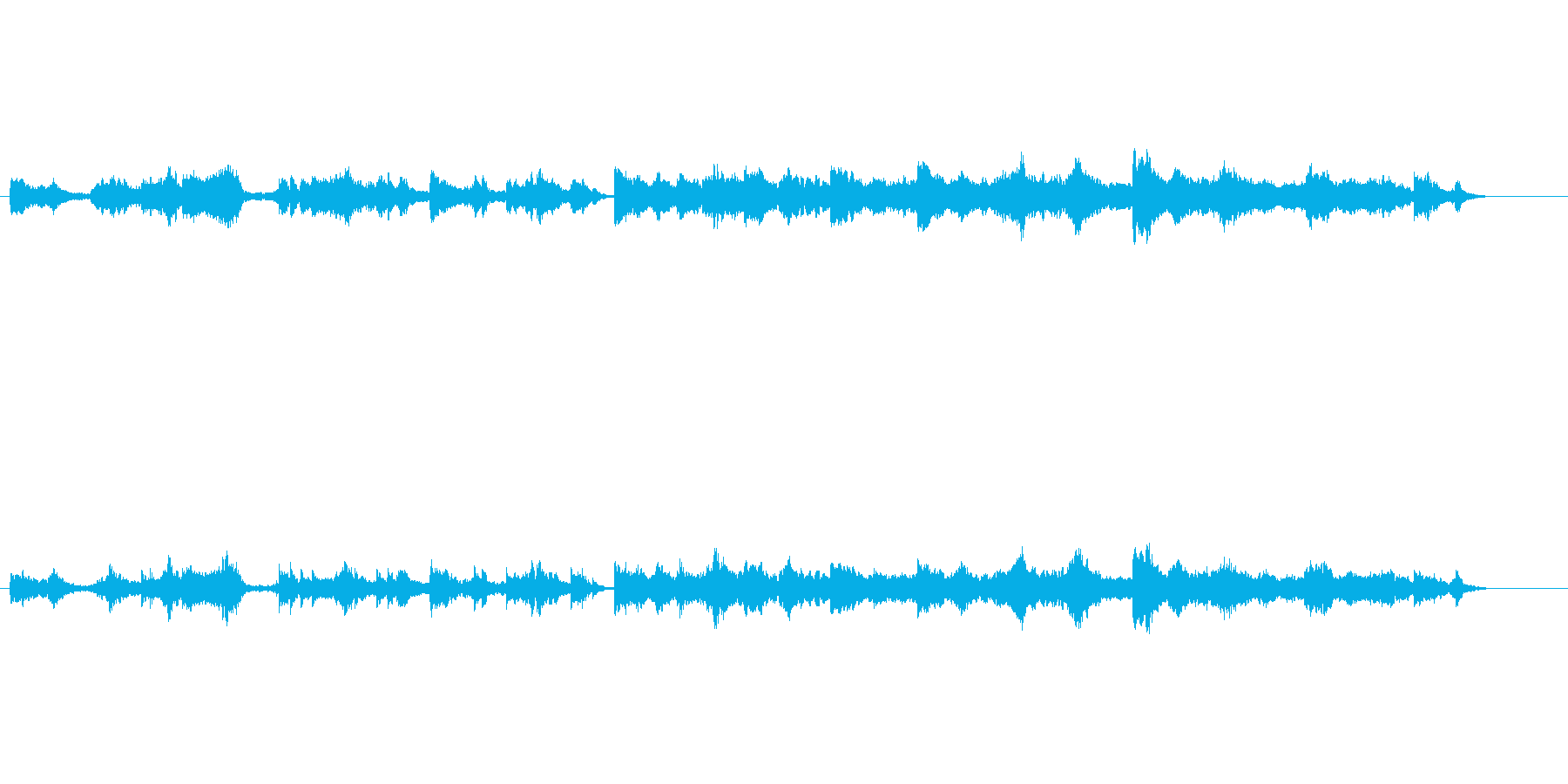 環境音楽風(1992宇宙の旅)の再生済みの波形