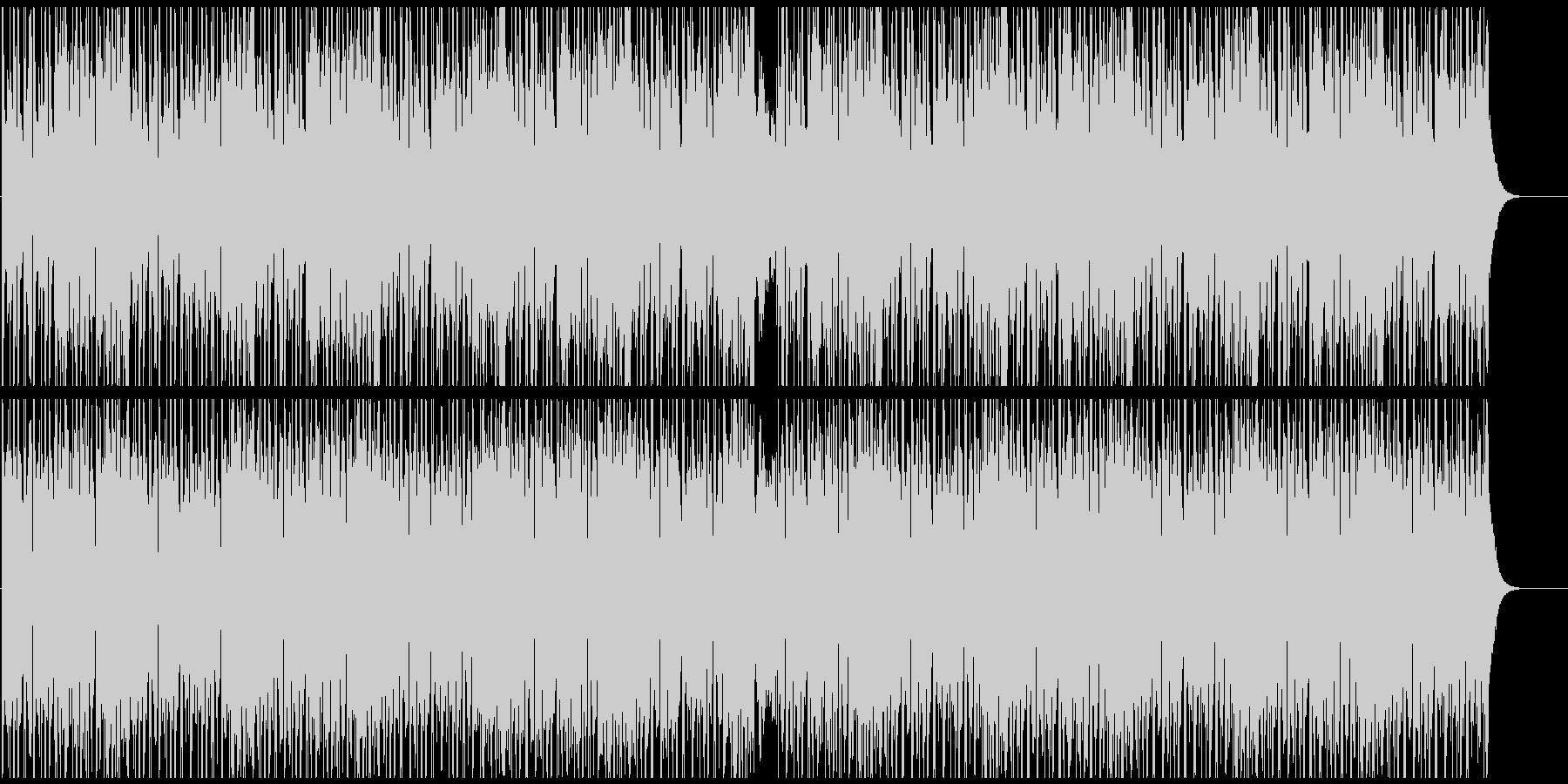 まったりしたアンビエントBGMの未再生の波形