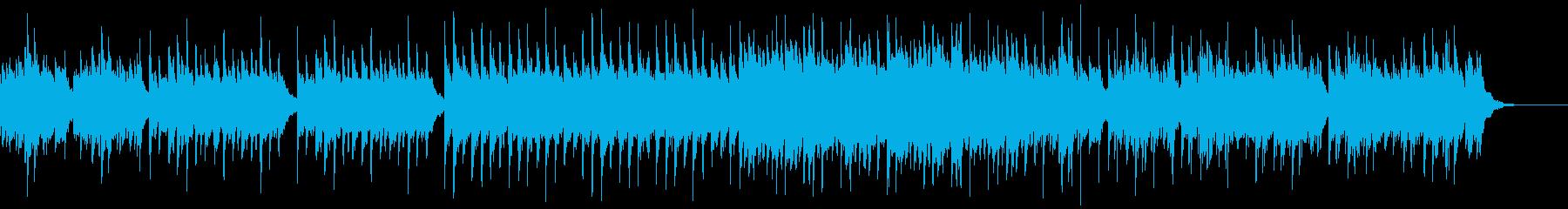 やさしい癒し系ピアノの再生済みの波形