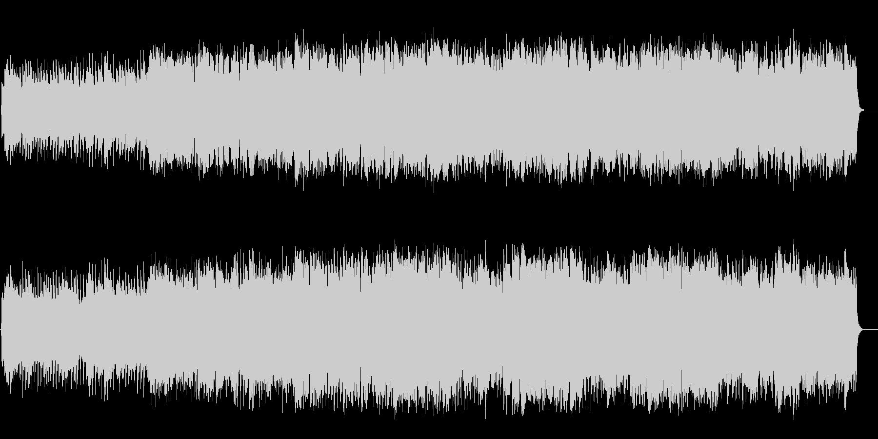 オルガンのレクイエム風スローバラードの未再生の波形