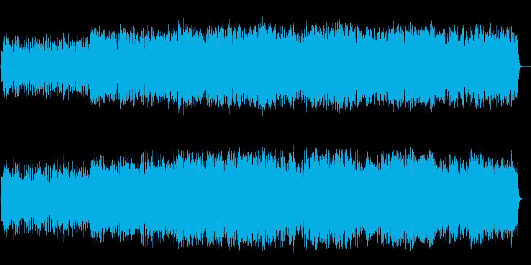 オルガンのレクイエム風スローバラードの再生済みの波形