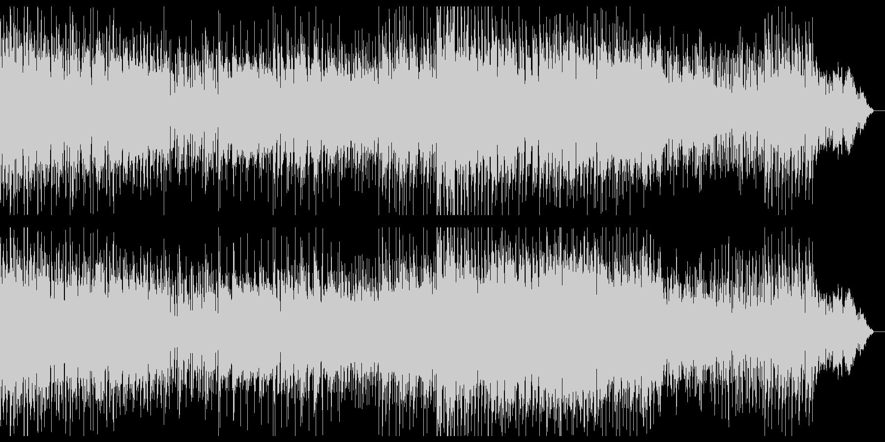 ダークで陰鬱なミニマルテクノの未再生の波形