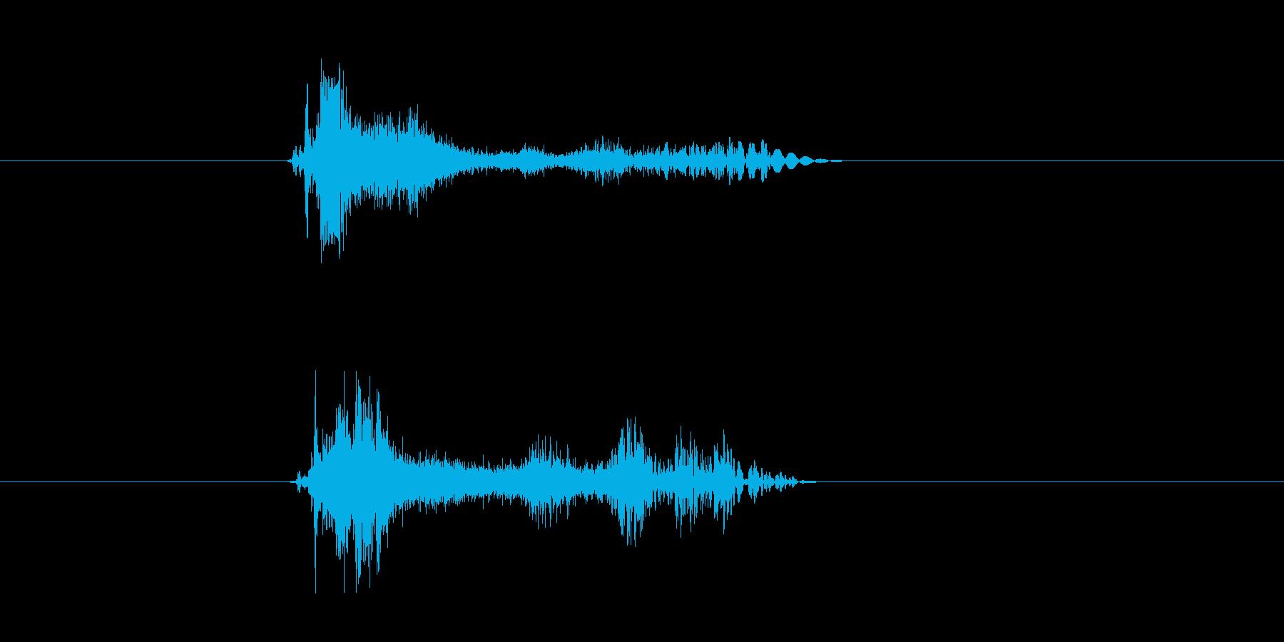 ビシューン(シューティング、ビーム)の再生済みの波形