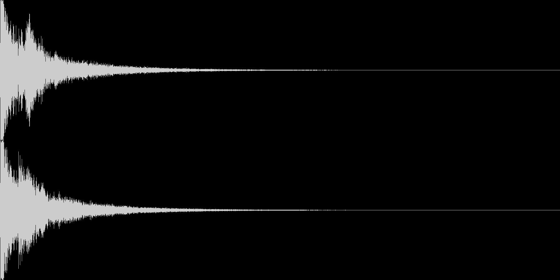 キラン1  アニメ 可愛らしいの未再生の波形