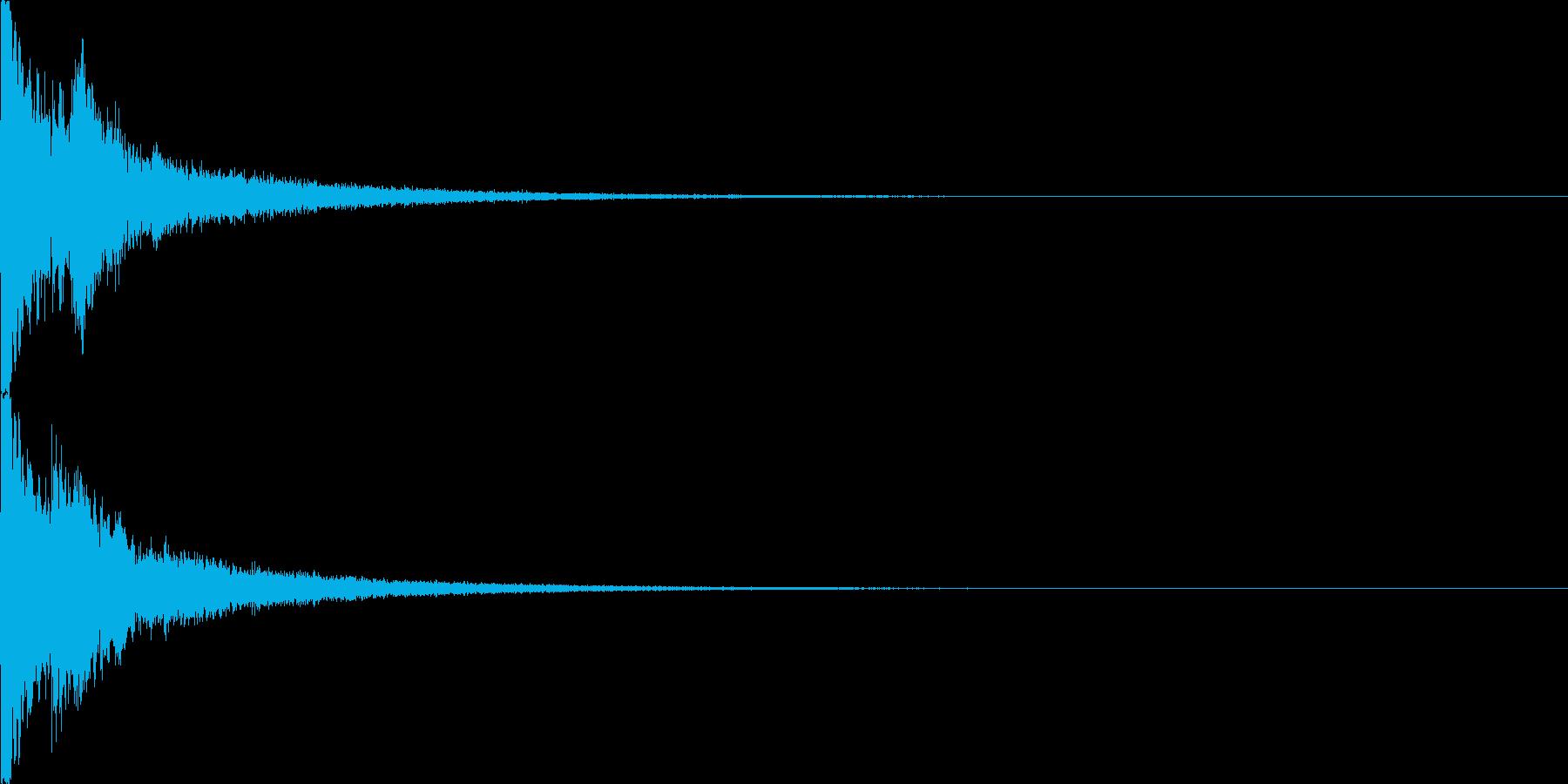 キラン1  アニメ 可愛らしいの再生済みの波形