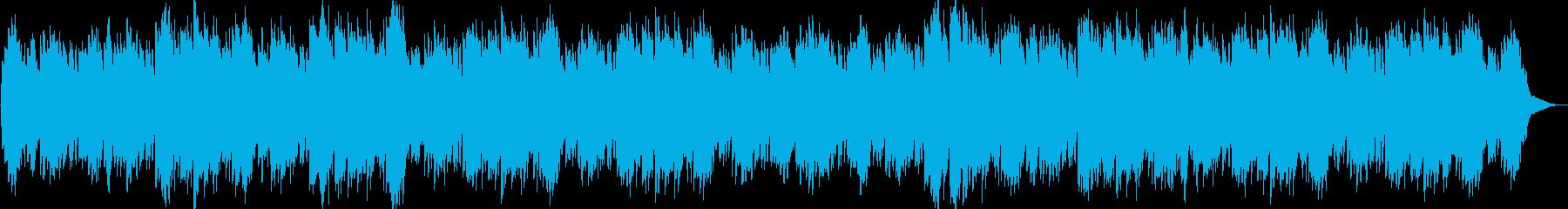 リラックス・神秘的・映像・ゲーム用の再生済みの波形