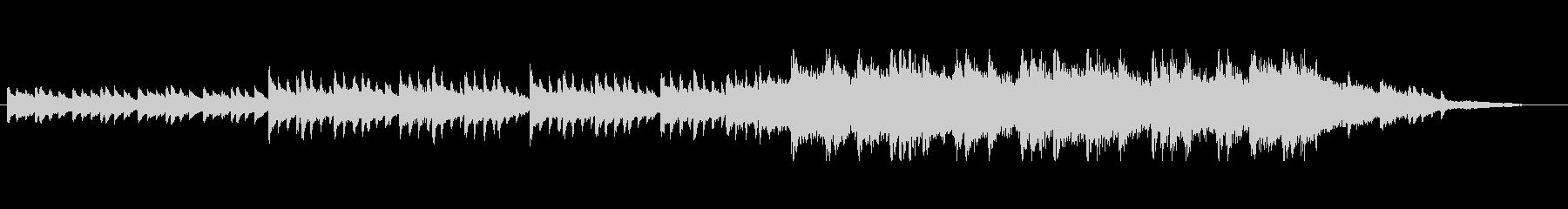 エモーショナルなピアノトラック(短縮版)の未再生の波形