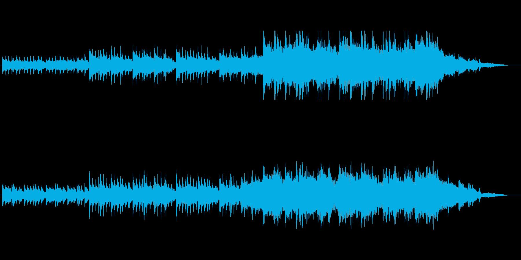 エモーショナルなピアノトラック(短縮版)の再生済みの波形