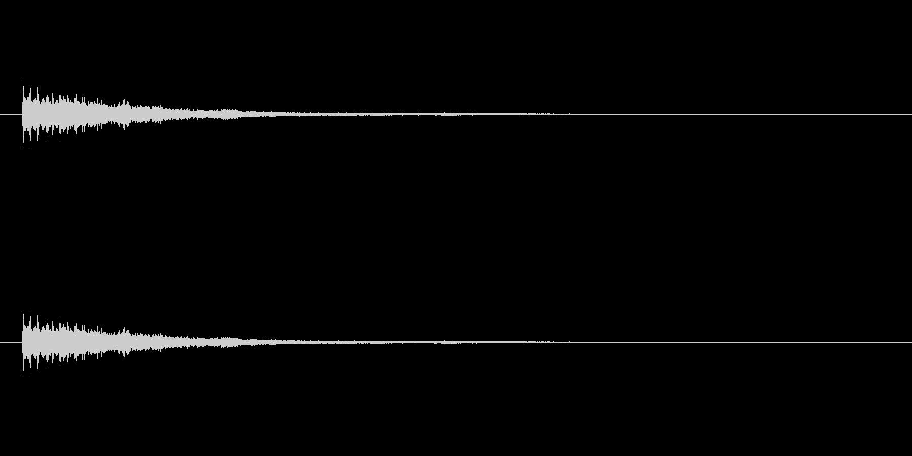 【ショートブリッジ15-5】の未再生の波形