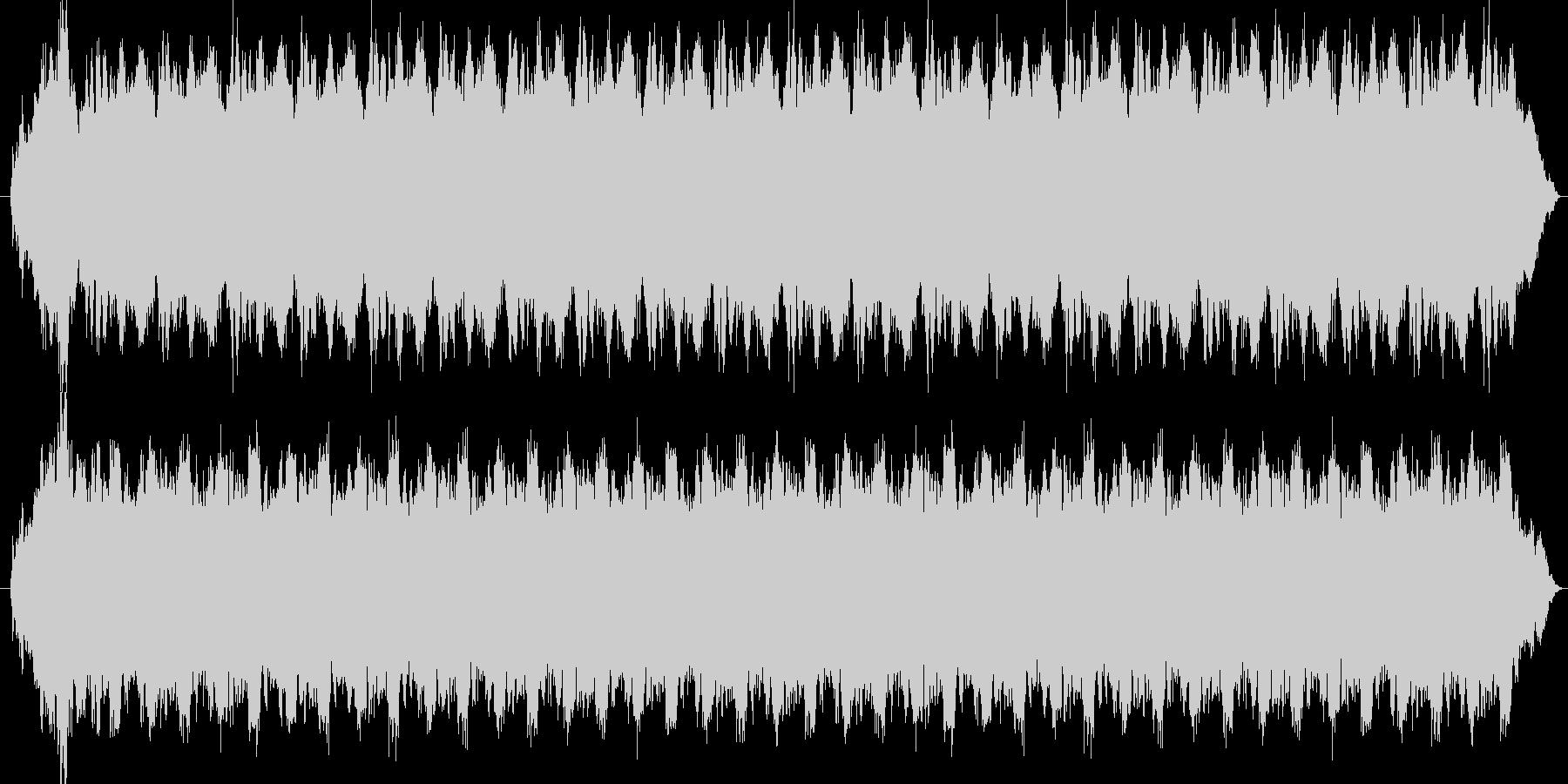 歯医者の嫌な音の未再生の波形