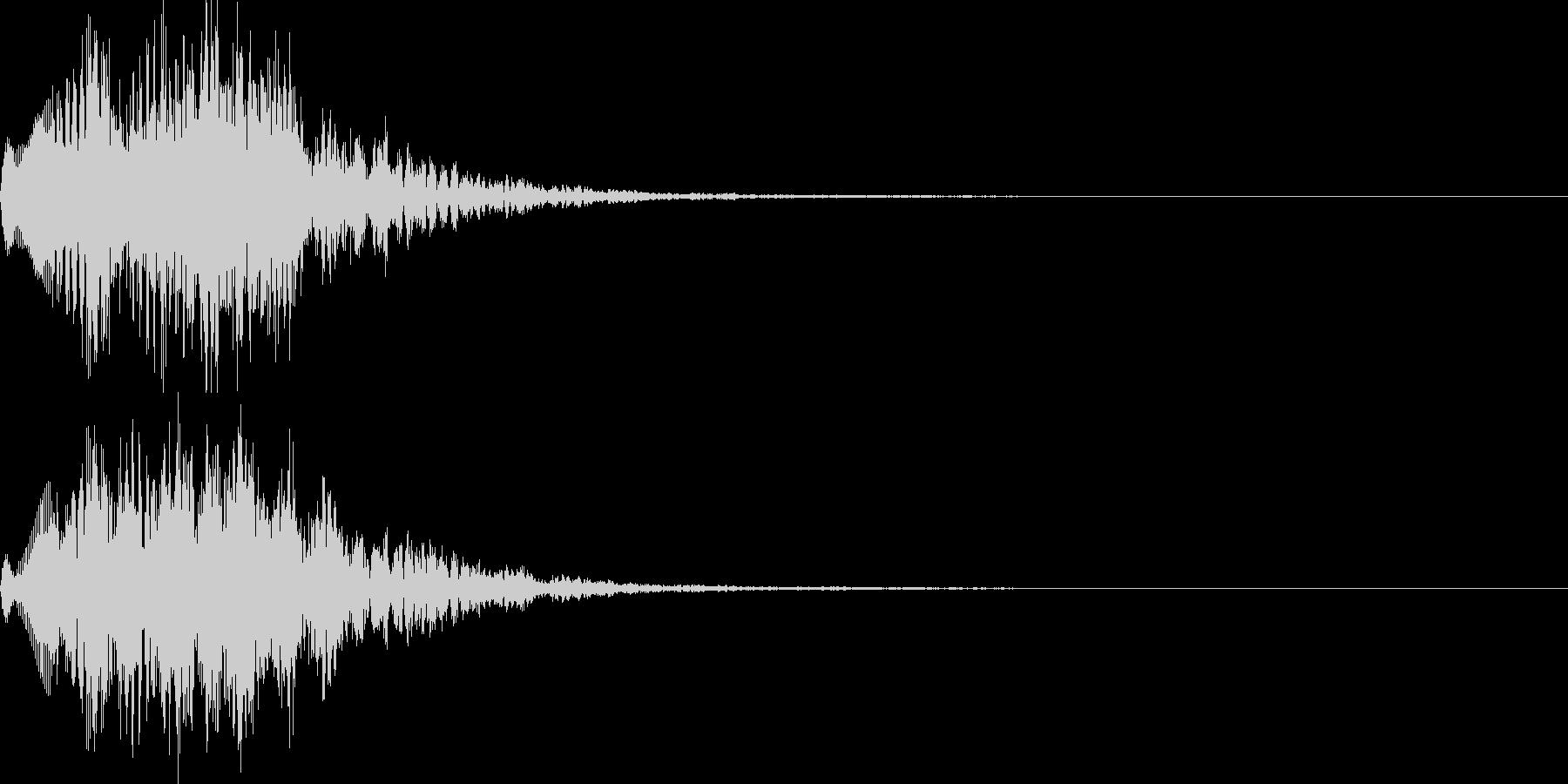 場面転換01の未再生の波形