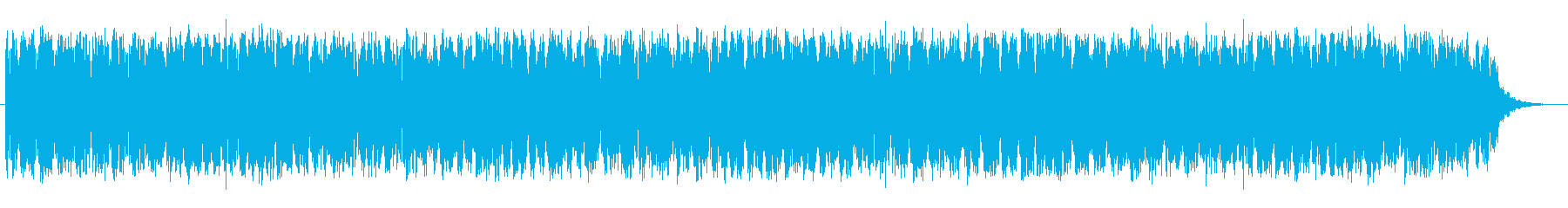 ハイテクでテクノロジーなテクノポップの再生済みの波形