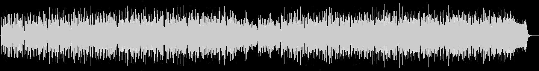 落ち着いたトーンのシンセサイザーの曲の未再生の波形