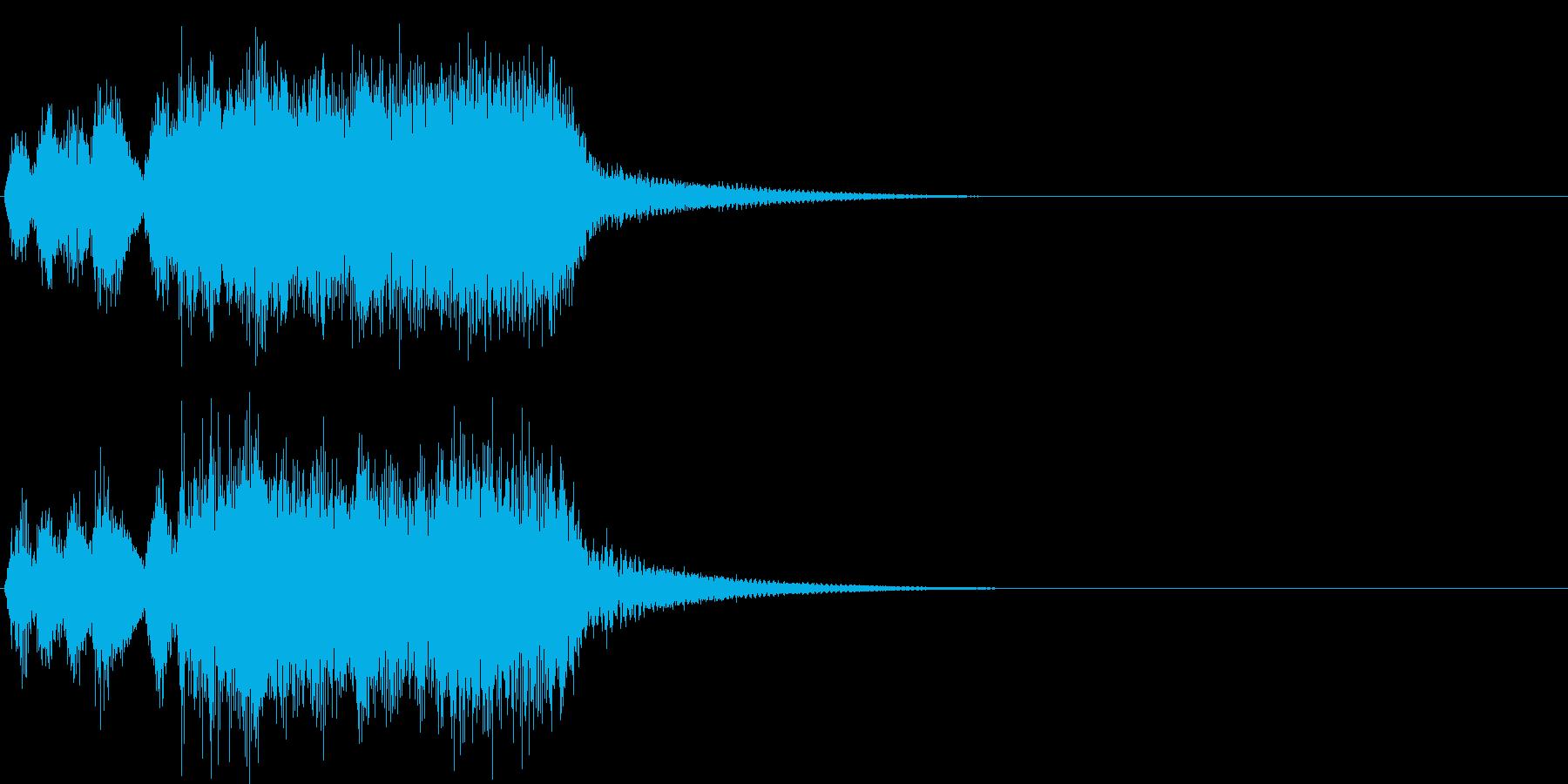 汎用22 ジャジャジャジャッジャジャーンの再生済みの波形